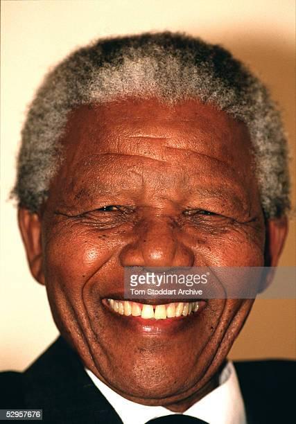 A portrait on President Nelson Mandela