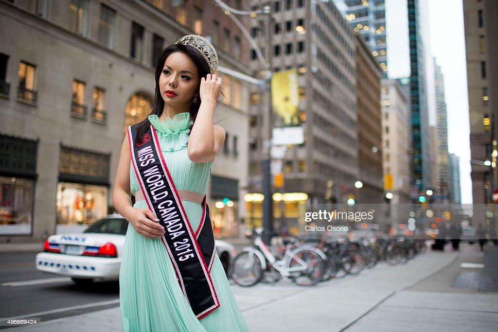 Anastasia Lin Miss World Canada : News Photo