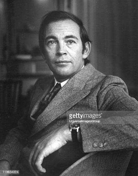 Portrait photograph of Dr Christiaan Barnard eminent South African heart transplant surgeon