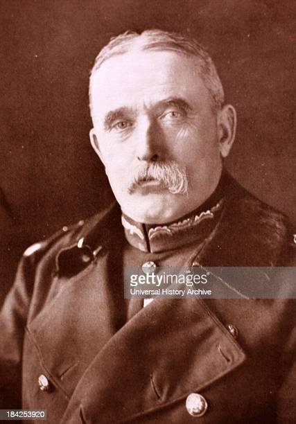 Portrait photograph of the John French, the first Earl of Ypres. Lived between 28 September 1852 – 22 May 1925. A cavalry commander in the Second...