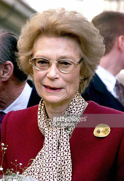 A portrait picture dated 18 March 1999 shows Grand Duchess of Luxembourg JosephineCharlotte during a visit to Arlon Grand Duchess of Luxembourg...