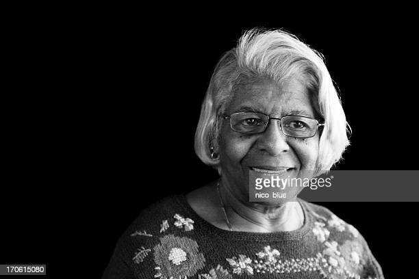 portrait - black granny stock photos and pictures