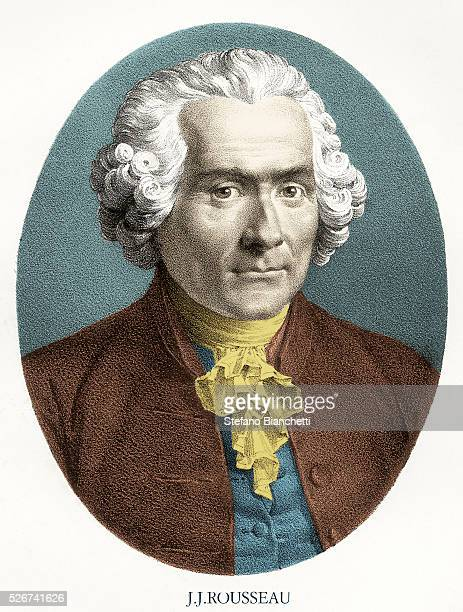 Portrait Print of JeanJacques Rousseau