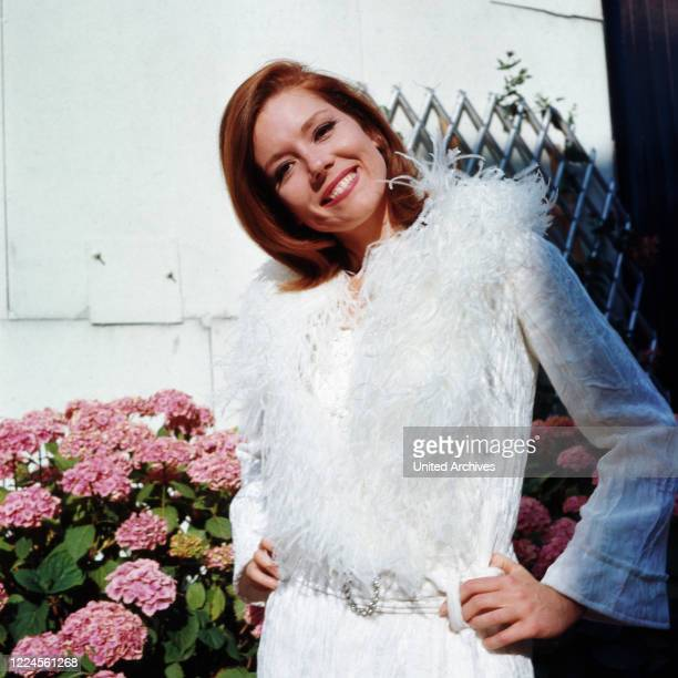 Portrait series of British actress Diana Rigg aka Lady Enid Diana Elizabeth Rigg, circa 1970s.