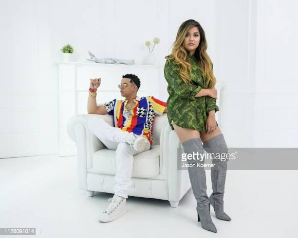 Portrait Session during Tiana Kocher Por Tiempo featuring J Alvarez Video Shoot on February 27 2019 in Miami Florida