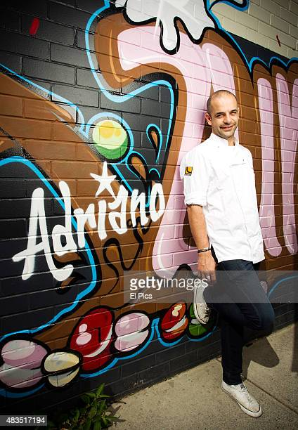 Portrait session with Adriano Zumbo Australia cake and pastry extrodiaire October 24th 2012 in Sydney Australia
