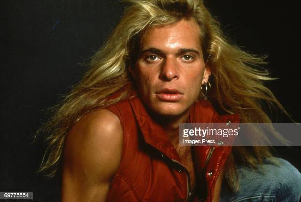 Portrait Session with David Lee Roth circa 1981