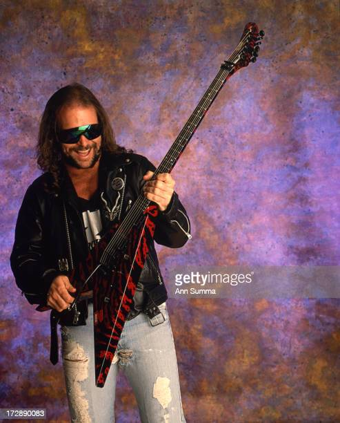 Portrait session with guitarist Kerry King guitarist for thrash metal band Slayer