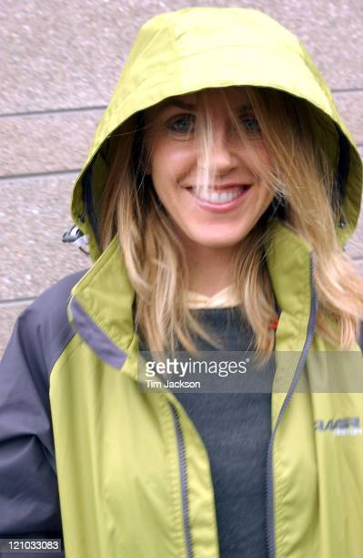 Portrait session with musician Liz Phair outside of KBCO Studios