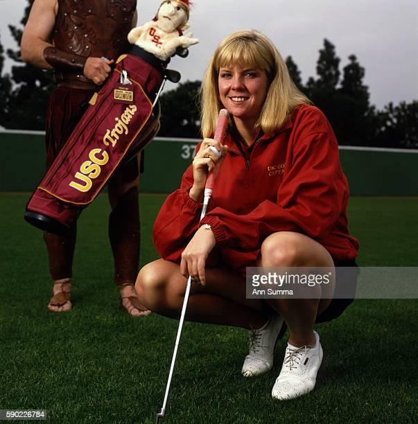 Portrait session with star USC golfer Jill McGill