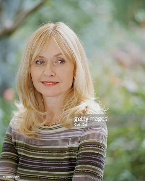 Portrait shot of UK actress Lizzie Spender.