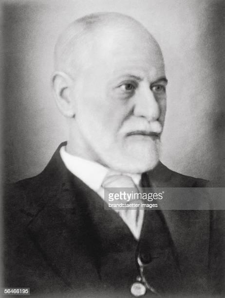 Portrait Sigmund Freud Photography 1933 [Portrait Sigmund Freud Photographie 1933]