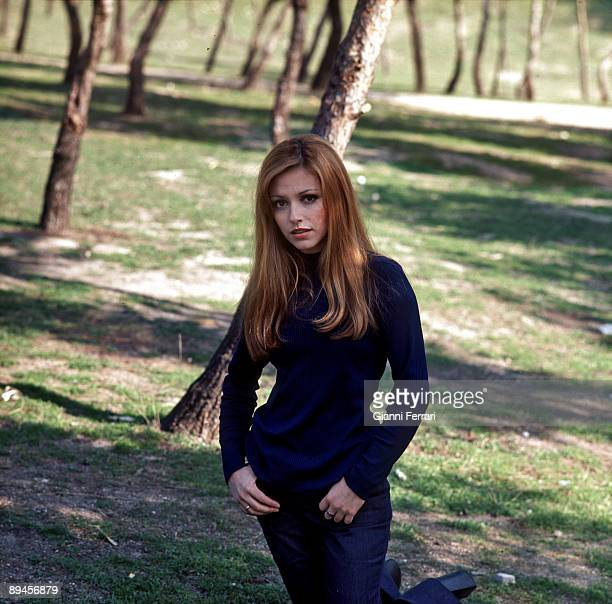 Portrait sitd of the actress Silvia Tortosa