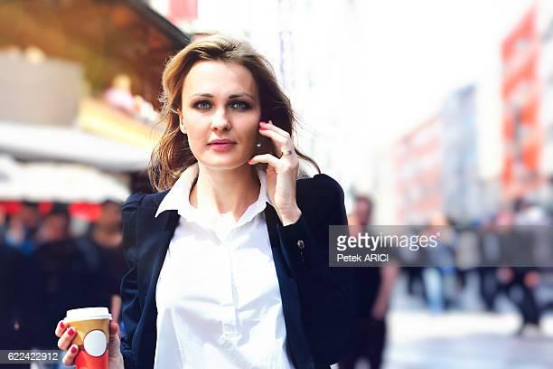 Portrait, strong businesswoman