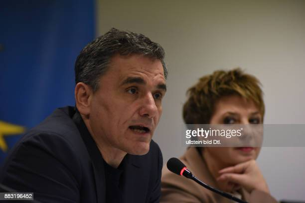 Portrait studies about the different emotions of Euclid Tsakalotos during a press conference