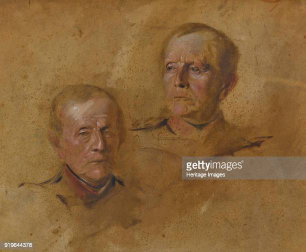 Portrait Studies of Field Marshal Helmuth Graf von Moltke ca 18801885 Private Collection