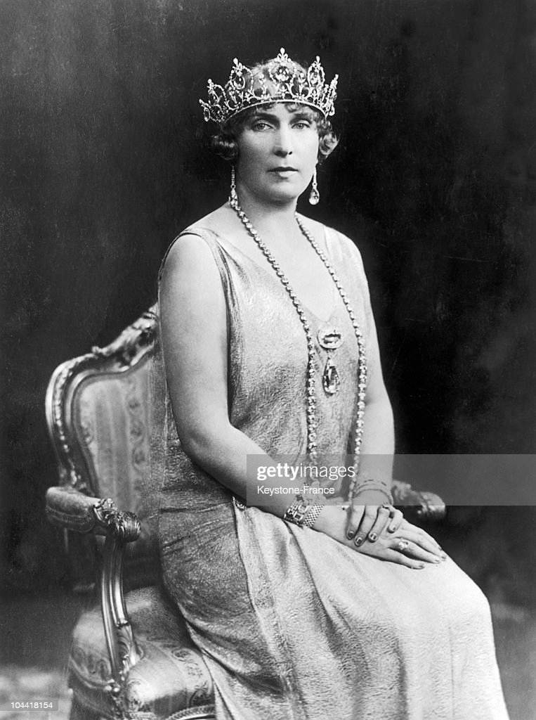 Queen Victoria Eugenia Of Battenberg (1887-1969) 1906-1930 : News Photo