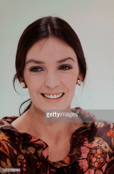 Portrait taken in 1969 shows French singer and actress Marie Laforêt.