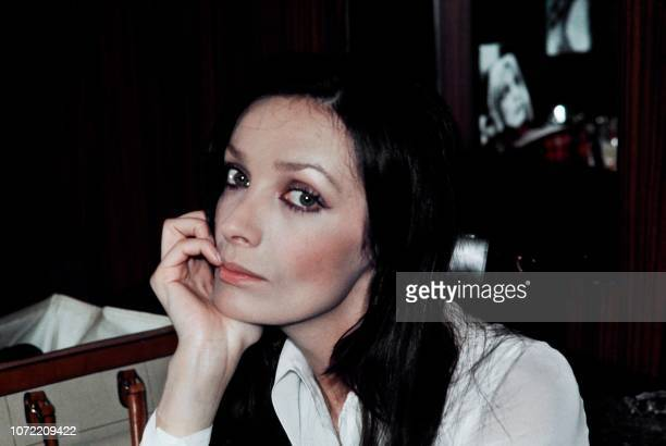 Portrait taken in May 1972 shows French singer and actress Marie Laforêt.