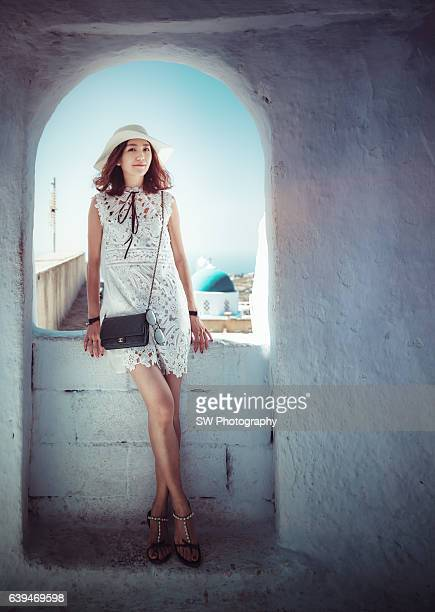 Portrait taken in Pyrgos town