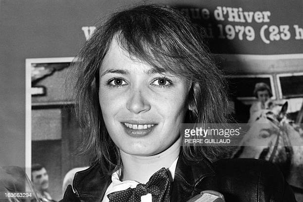 A portrait taken on April 12 1979 in Paris shows French actress Dominique Laffin Her career was cut short at the age of 33 by a massive heart attack...