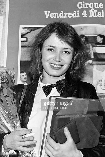 A portrait taken on April 12 1979 in Paris shows French actress Dominique Laffin awarded by the Prix Suzanne Bianchetti Her career was cut short at...