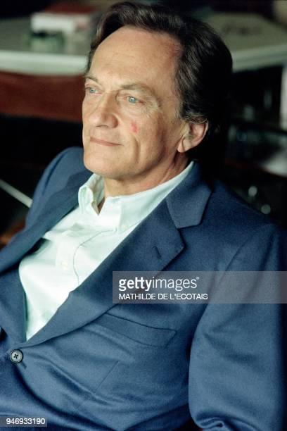 Portrait taken on April 17 1991 shows French journalist Philippe Tesson founder of the newspaper Le Quotidien de Paris / AFP PHOTO / Mathilde de...