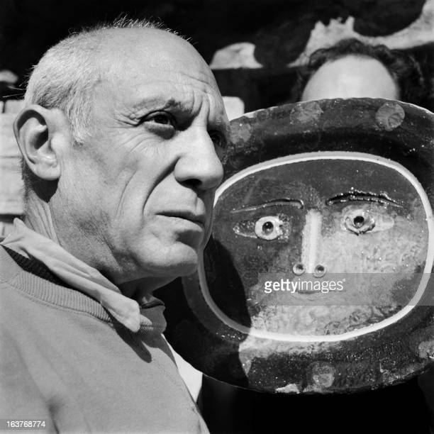A portrait taken on April 1949 in Vallauris shows Spanish painter Pablo Picasso AFP PHOTO