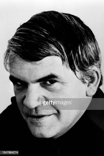 Portrait taken on January 19 1976 shows Czechborn French writer Milan Kundera