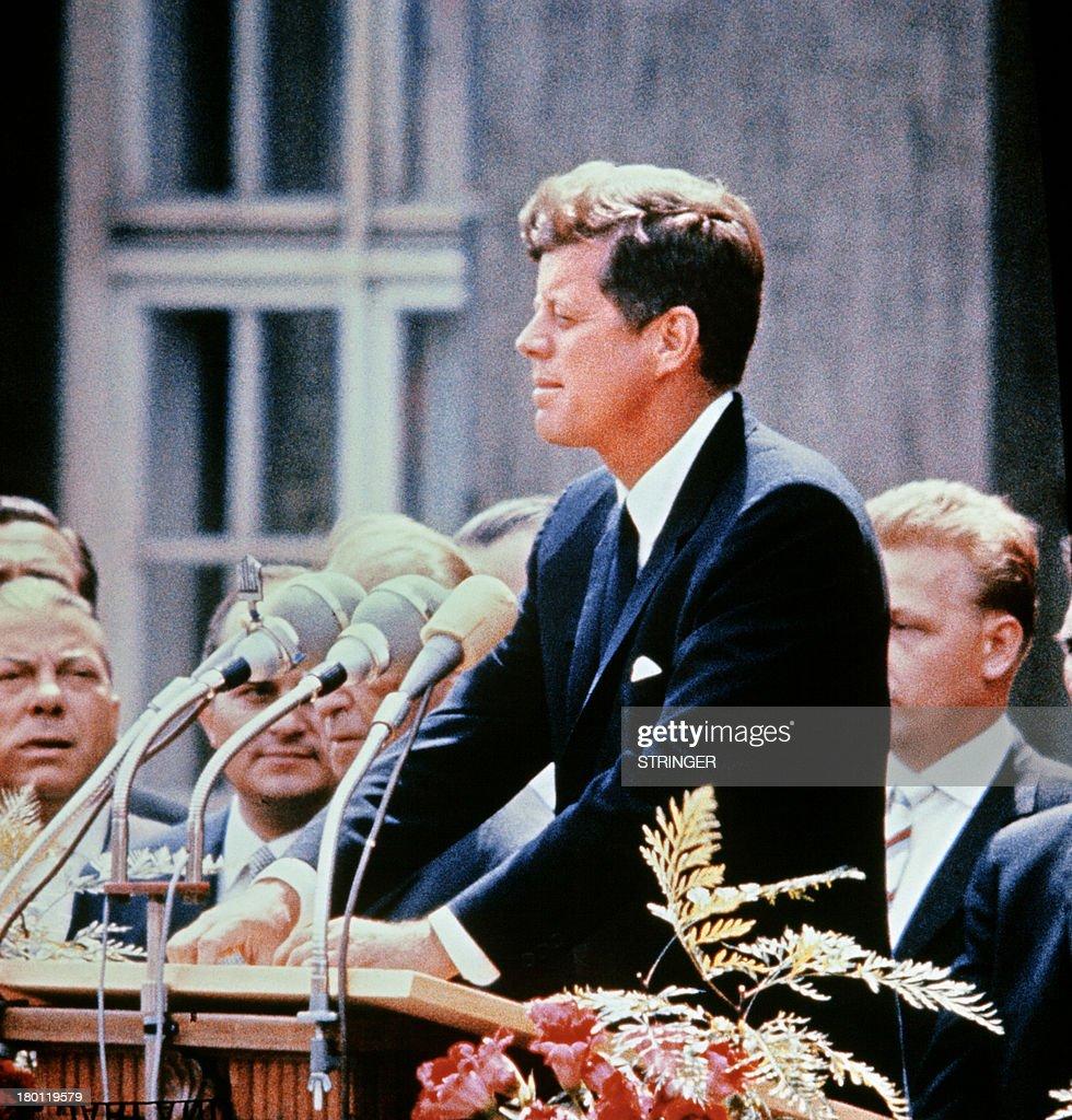 Senator John F. Kennedy from Massachusetts, 1957 (Photo