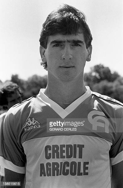 A portrait taken on July 22 1985 in Auxerre shows French football player Eric Cantona AFP PHOTO GERARD CERLES