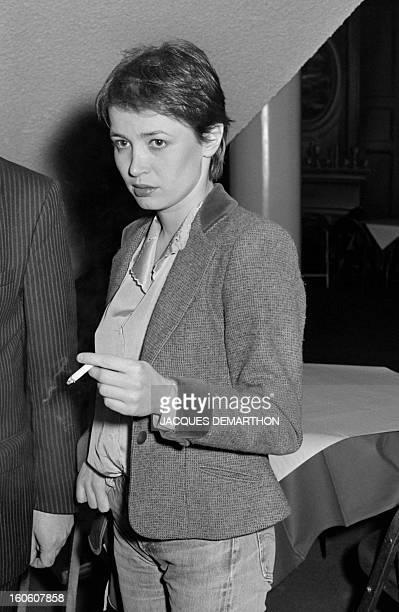 A portrait taken on March 27 1981 in Paris shows French actress Dominique Laffin mother of politician Clementine Autain AFP PHOTO JACQUES DEMARTHON