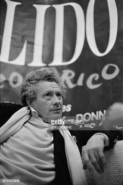 Portrait taken on November 22 1983 shows British photographer and film director David Hamilton at the Lido in Paris Hamilton is known for his nude...