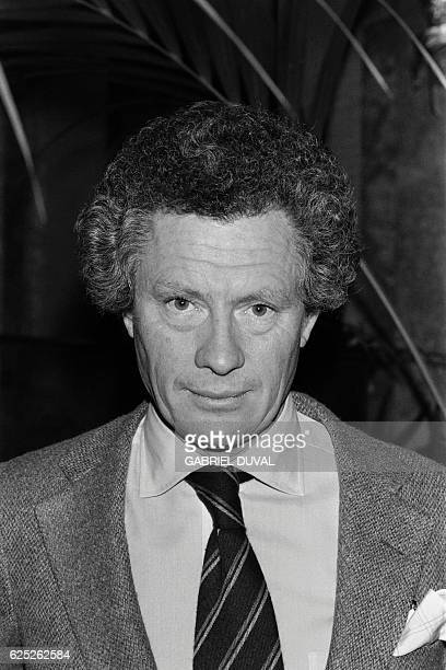 Portrait taken on November 29 1979 in Paris shows British photographer and film director David Hamilton Hamilton is known for his nude images of...