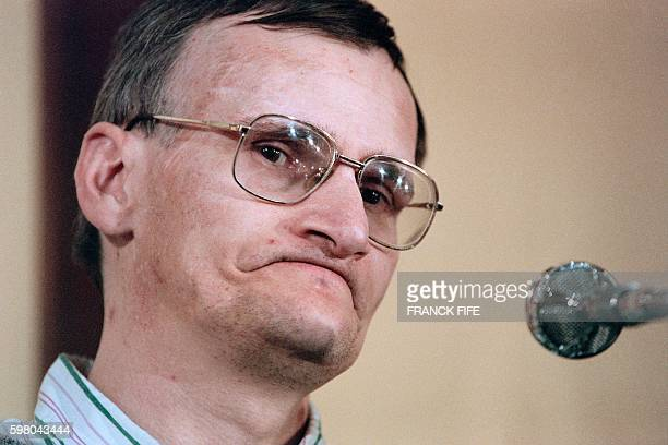 Portrait taken on September 27 1995 shows Francis Heaulme alleged murder of Laurence Guillaume a 14yearold girl look on during his trial at the Metz...