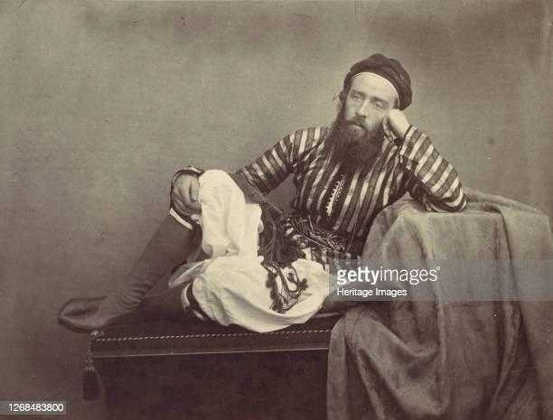 Portrait, Turkish Summer Costume, 1857. Artist Francis Frith.