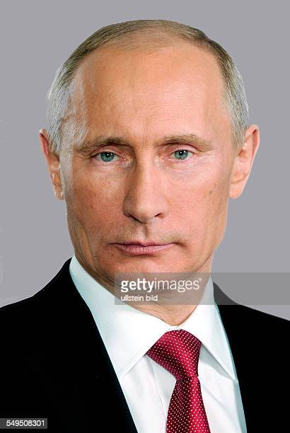 Portrait von Wladimir Putin *Portrait of Wladimir Putin * President of the Russian Federation