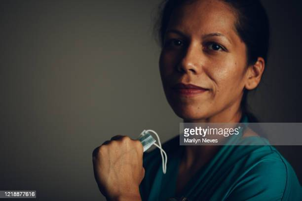 """portrait woman in medical field - """"marilyn nieves"""" stock pictures, royalty-free photos & images"""