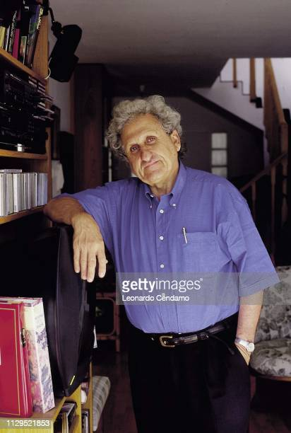 Portrait, writer, Yehoshua Abraham B, Mantova, Italy, 1999.