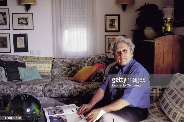 Portrait, writer, Yehoshua Abraham B, Milan, Italy, 1999.
