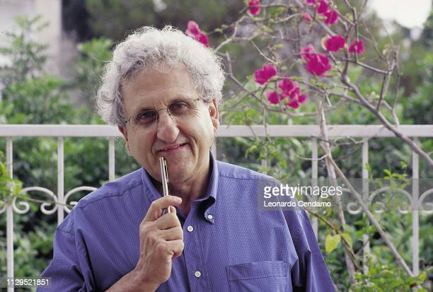 Portrait, writer, Yehoshua Abraham B, Torino-Turin, Italy, 1999.