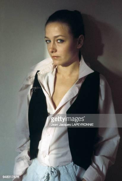 Portraits de l'actrice Patti d'Arbanville à Hollywood en avril 1977 Californie