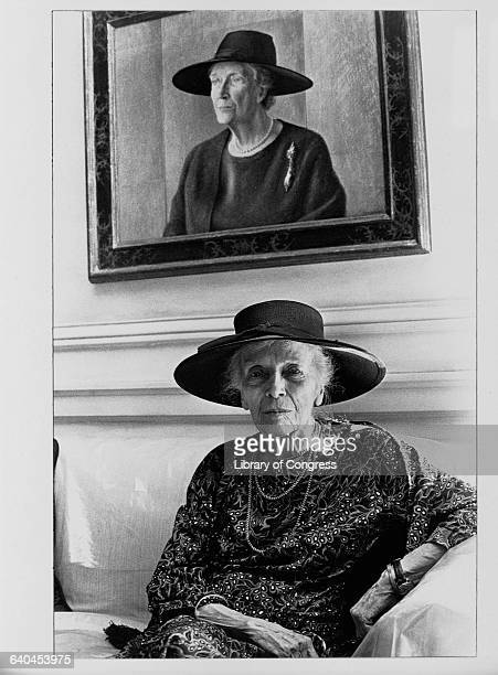 Portraits of Alice Roosevelt Longworth daughter of Theodore Roosevelt