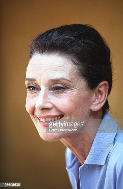 Portraits of Audrey Hepburn, UNICEF's Goodwill Ambassador, on a trip to Vietnam to visit ethnic minority children in the hill tribe region of...