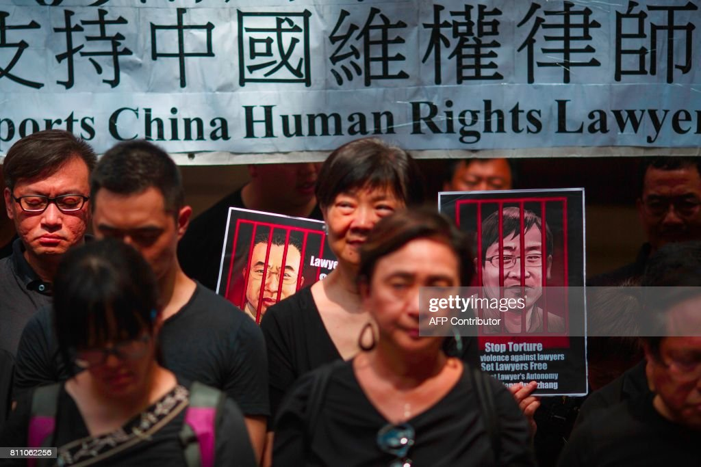 HONG KONG-CHINA-RIGHTS-LAW : Foto di attualità