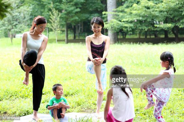 portraits of Family Yoga