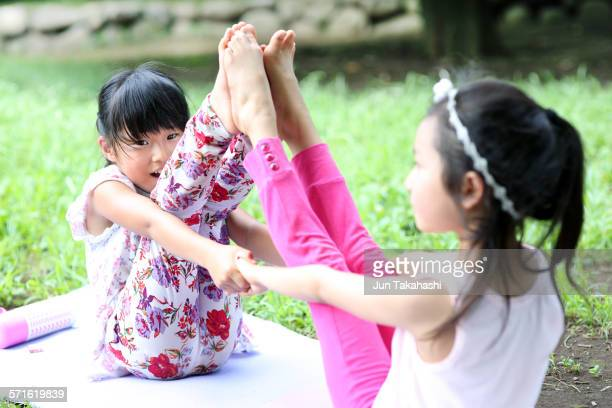 portraits of Family Yoga