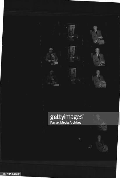 Portraits of Former Australian Mr Harry Bridges Leader of the US International Longshoremens Union At Kings Cross September 30 1976