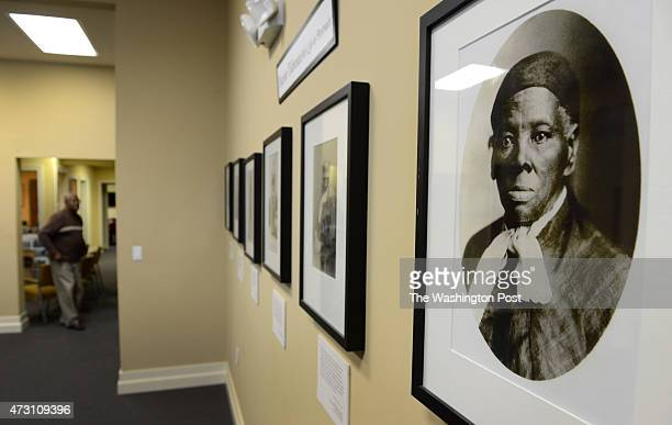 Portraits of Harriet Tubman hang in the Harriet Tubman Museum and Education Center in Cambridge MD on March 5 2013 There are plans for a national...