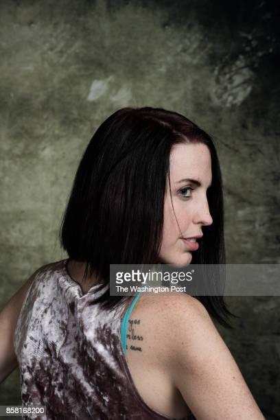 Portraits of Intersex people who attend the 2017 AISDSD Annual Conference in Phoenix Arizona on July 13 2017 PICTURED Emily Quinn is a member of the...